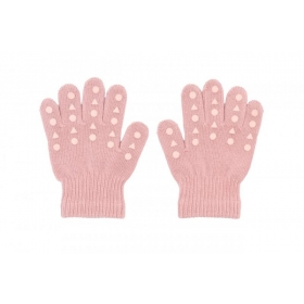 GoBabyGo Grip Gloves Dusty Rose