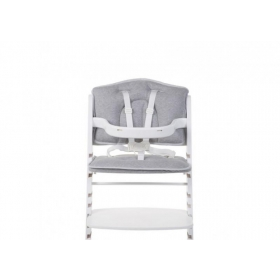 Childhome BABY GROW CHAIR CUSHION JERSEY GREY - REDUCER