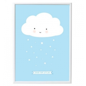 ALLC Little Poster: Cloud blue