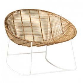 Orinoco Rocking Chair, Nature, Rattan