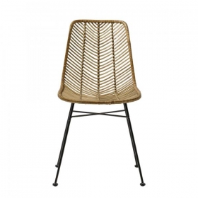 Bloomingville Lena Chair, Nature, Rattan