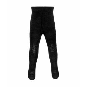 GoBabyGo Crawling Tights- Dark Grey