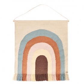 OY OY LIVING DESIGN FOLLOW THE RAINBOW RUG