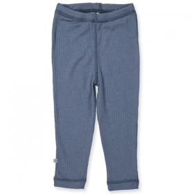 Leggins, merino wool Denim