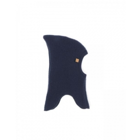SMALLSTUFF Balaclava, Merino Wool, Navy, Double Layer/Windstop