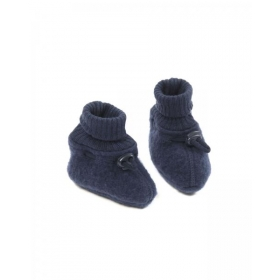 SMALLSTUFF Booties Merino Wool, Navy
