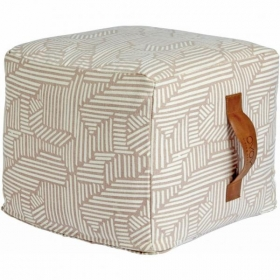 OY OY Living Design Mini Paddy Pouf- Rose
