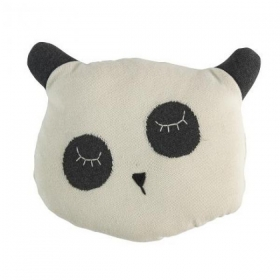 Sebra Knitted Cushion Panda In The Sky