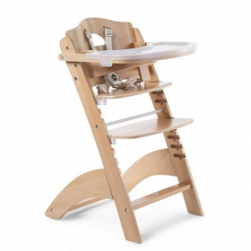 Childhome BABY GROW CHAIR LAMBDA 3 NATURAL+TRAY COVER