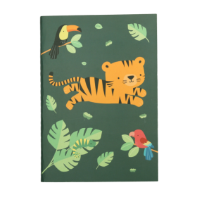 ALLC A5 notebook- Jungel Tiger