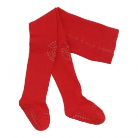 GoBabyGo Non-Slip Crawling Tights Red