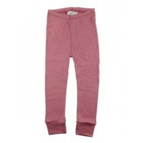 Nordic Label Wool Leggings Withered Rose