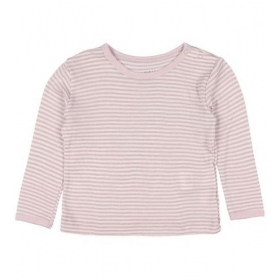 Fixoni Joy LS T-Shirt  Stripe Burnished Lilac