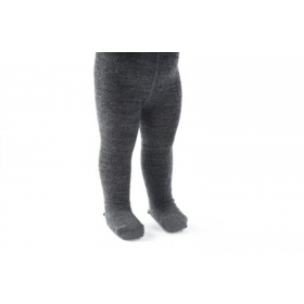 Smallstuff Wool tights, antrazit