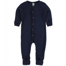 Smallstuff meriinovillane nightsuit navy