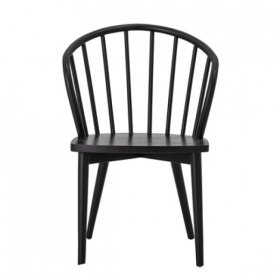BOOMINGVILLE Wendel Dining Chair, Black, Teak