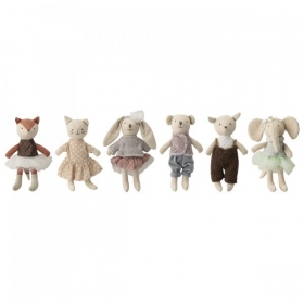 Bloomingville Soft Toy, Multi-color, Cotton - KARU