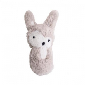 SEBRA RATTLE, SIGGY THE RABBIT, FEATHER BEIGE