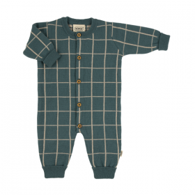 VOKSI KOOTUD MERIINOVILLANE JUMPSUIT SEA GREEN