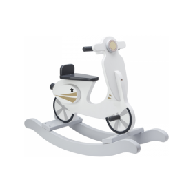 Kids Concept ROCKING SCOOTER GREY/WHITE