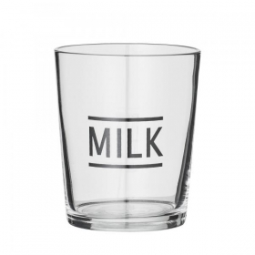 Bloomingville Drinking Glass Clear Glass MILK