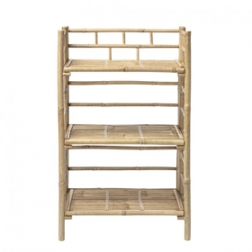 BLOOMINGVILLE BOOKCASE, NATURE, BAMBOO