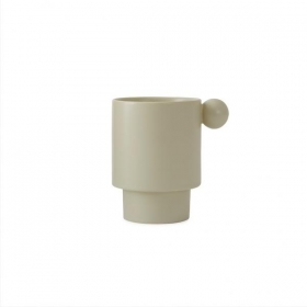 OY OY LIVING DESIGN Inka Cup WHITE